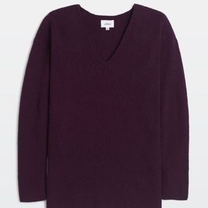 Wilfred Henon Sweater Burgundy